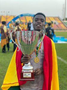Legon Cities youngster Matthew Anim Cudjoe set sights on next year's AYC after Wafu Cup success