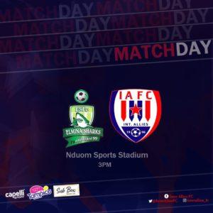 20/21 Ghana Premier League: Elmina Sharks v Inter Allies matchday 6 preview