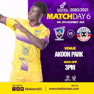 20/21 Ghana Premier League: Medeama v Liberty Professionals matchday 6 preview
