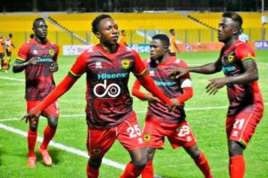2021 Ghana Premier League: Asante Kotoko striker Ibrahim Osman resumes full training