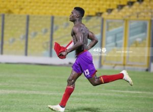 Hearts of Oak striker Kwadwo Obeng Jnr confident of scoring against Aduana Stars in midweek