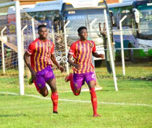 20/21 Ghana Premier League: Late Manaf Umar penalty seal win for Hearts of Oak against King Faisal