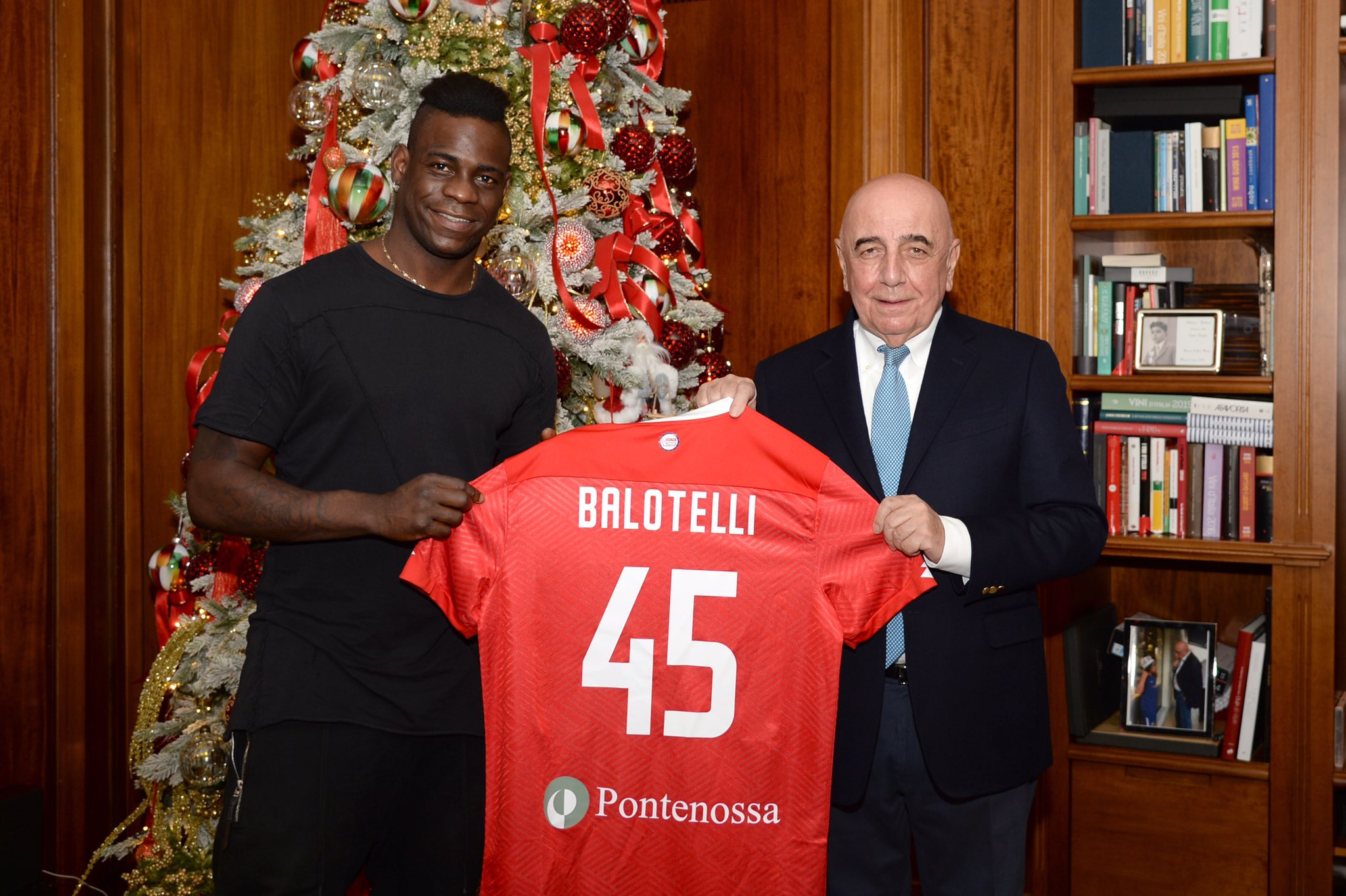 Mario Balotelli dreams of promotion to Serie A with Monza