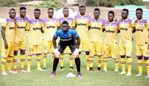 Medeama SC gaffer Samuel Boadu announce 20-man squad for Ebusua Dwarfs trip