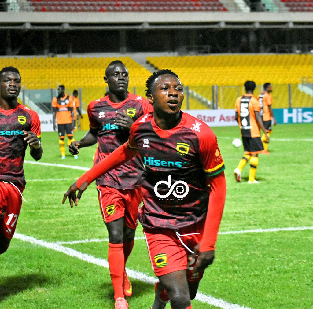 Striker Osman Ibrahim ready to terminate Asante Kotoko contract
