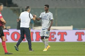 Ghanaian youngster Philip Yeboah shares his excitement after making his Serie A debut for Hellas Verona