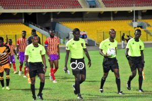 GFA announce selected match officials for GPL match week four