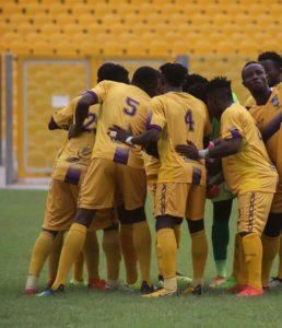 20/21 Ghana Premier League: Medeama SC fight to draw 1-1 against Asante Kotoko