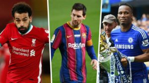 Which Africans have scored the most at Europe's biggest clubs?
