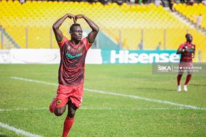 Keita decided not to take penalty against Hearts because of his miss against ES Setif – Johnson Smith