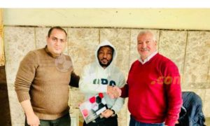 OFFICIAL: Ghanaian forward Benjamin Acheampong signs for Egyptian outfit El Dakhleya SC