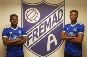 Danish club Fremad Amager sign Cheetah FC duo Adade and Agoanyah on loan
