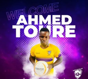 """I am extremely happy to return home"" - Medeama striker Amed Toure"