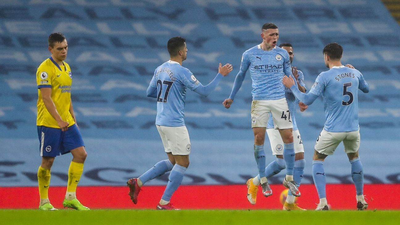 City win to keep pace with Man Utd, Liverpool