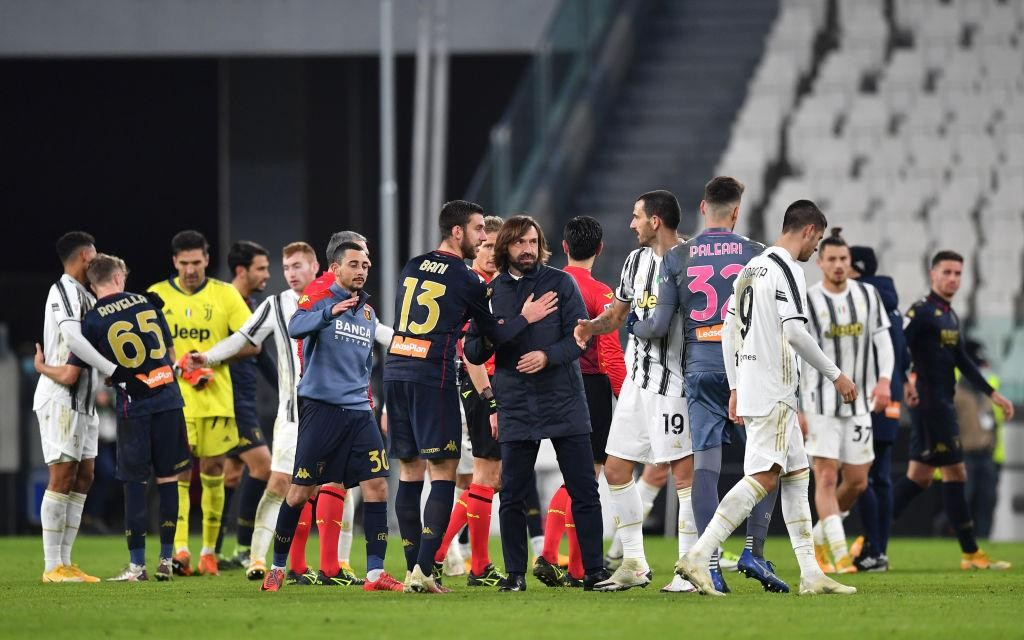 JUVENTUS: POST-MATCH COMMENTS AFTER GENOA
