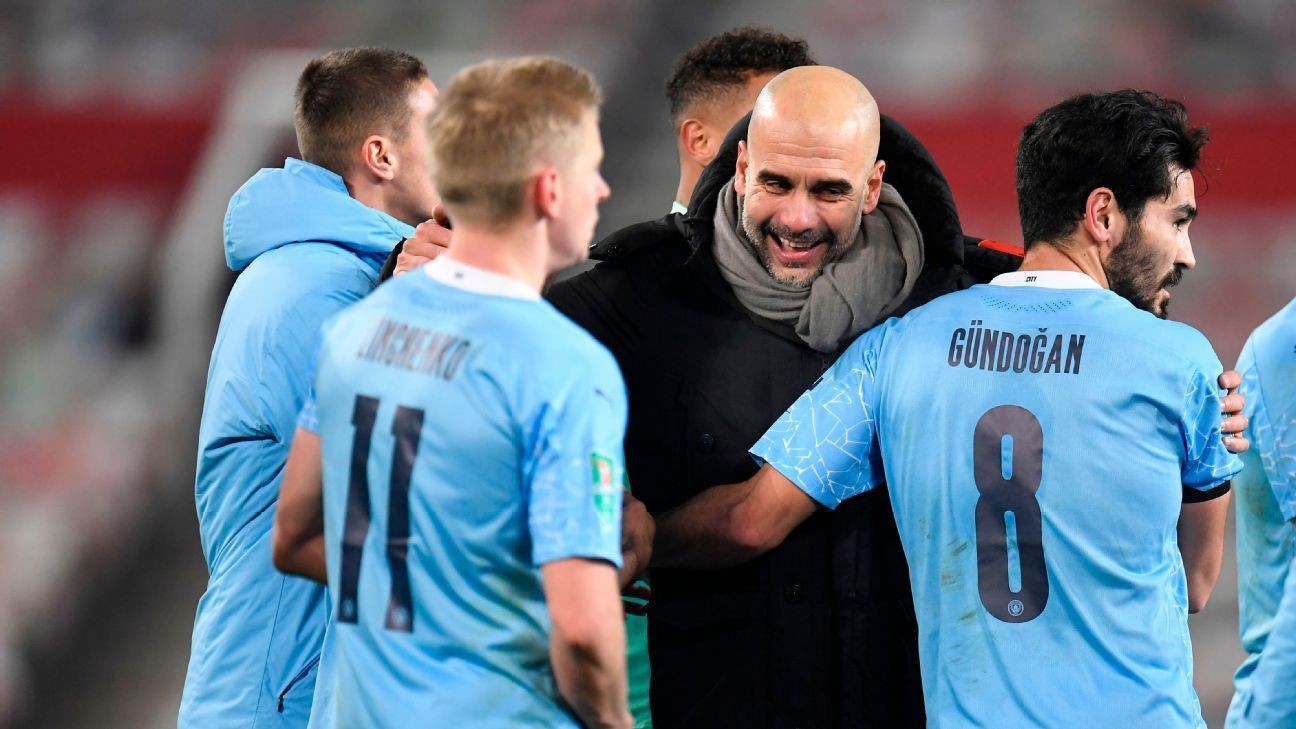 Pep's hugging claim 'ridiculous' - UK politician