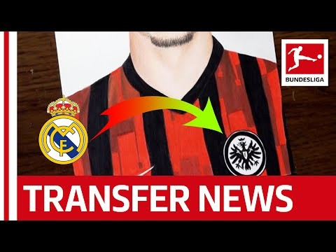 Guess Who's back? • Real Madrid Striker joins Eintracht Frankfurt