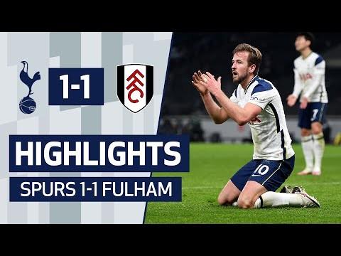 HIGHLIGHTS | SPURS 1-1 FULHAM