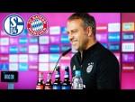 LIVE 🔴 Pressetalk mit Hansi Flick | Schalke 04 - FC Bayern