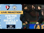 CHELTENHAM TOWN V MAN CITY | FA CUP | WNRH FULL TIME SHOW