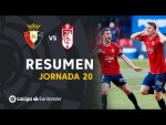 Resumen de CA Osasuna vs Granada CF (3-1)