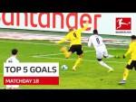 Top 5 Goals • Haaland, Silva & Co | Matchday 18 - 2020/21