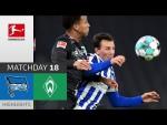 Hertha Berlin - SV Werder Bremen | 1-4 | Highlights | Matchday 18 – Bundesliga 2020/21