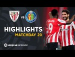 Highlights Athletic Club vs Getafe CF (5-1)
