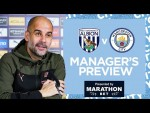 PEP'S PRESS CONFERENCE | WEST BROMWICH ALBION V MAN CITY | PREMIER LEAGUE