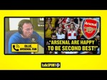 CUNDY vs ARSENAL FAN! Jason Cundy winds up furious Gunners supporter about Arsenal's ambitions