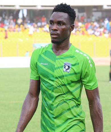 Bechem United striker Hafiz Konkoni blames poor officiating for Hearts defeat