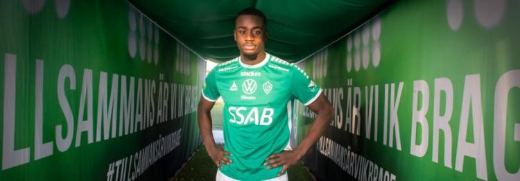 Ghanaian midfielder Adil Titi seals loan move to IK Brage