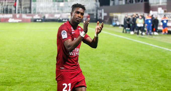France: John Boye sent off in Metz defeat to AS Monaco