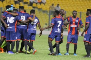 20/21 Ghana Premier League Matchday 10: Resilient Legon Cities FC come from behind to thump AshGold 5-2