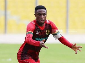 Transfer listed Emmanuel Gyamfi excluded from Kotoko's travelling squad for Dubai pre-season