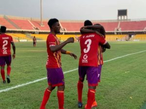 VIDEO: Victor Aidoo score twice as Hearts of Oak thrash Bechem Utd