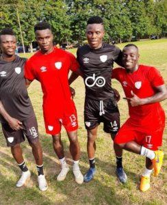 Major squad boost for Hearts of Oak as striker Kwadwo Obeng Jnr resumes training