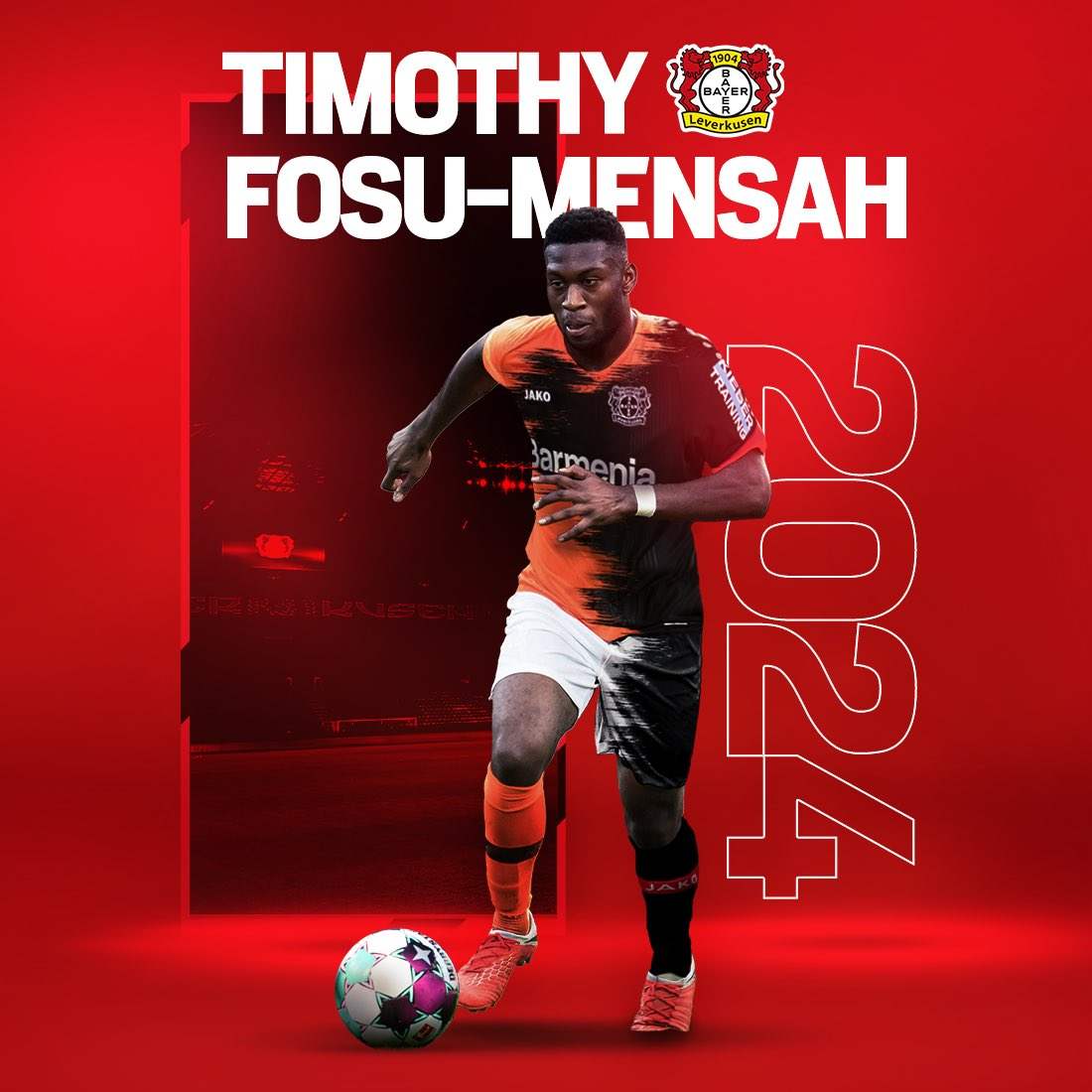 JUST IN: Timothy Fosu-Mensah joins Bayer Leverkusen for an undisclosed fee