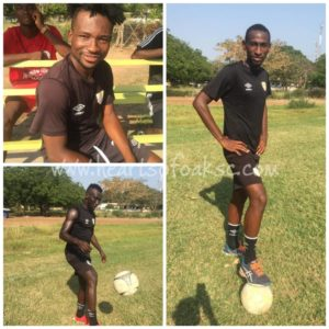 Hearts of Oak midfield trio resume training after recovering from various injuries