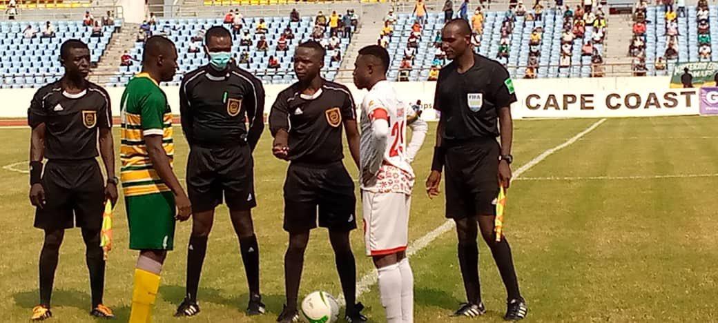 20/21 Ghana Premier League: Asante Kotoko defeat Ebusua Dwarfs 1-0 to enter top four