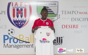 Ex-Kotoko attacker Richard Arthur excited with move to Inter Allies FC