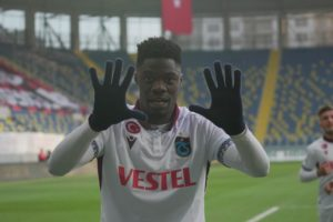 Ghana forward Caleb Ekuban breaks goal-scoring record at Trabzonspor