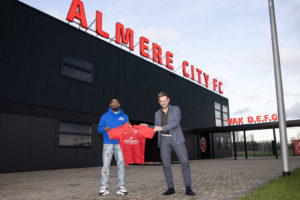 Almere City FC Technical manager Teun Jacobs delighted with signing of Ghana's John Yeboah