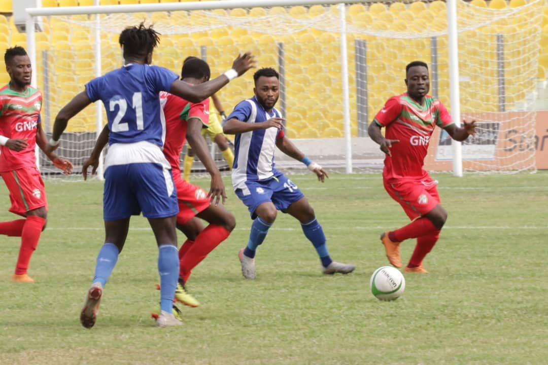 20/21 Ghana Premier League matchday 10: Olympics share spoils with Karela after goalless draw