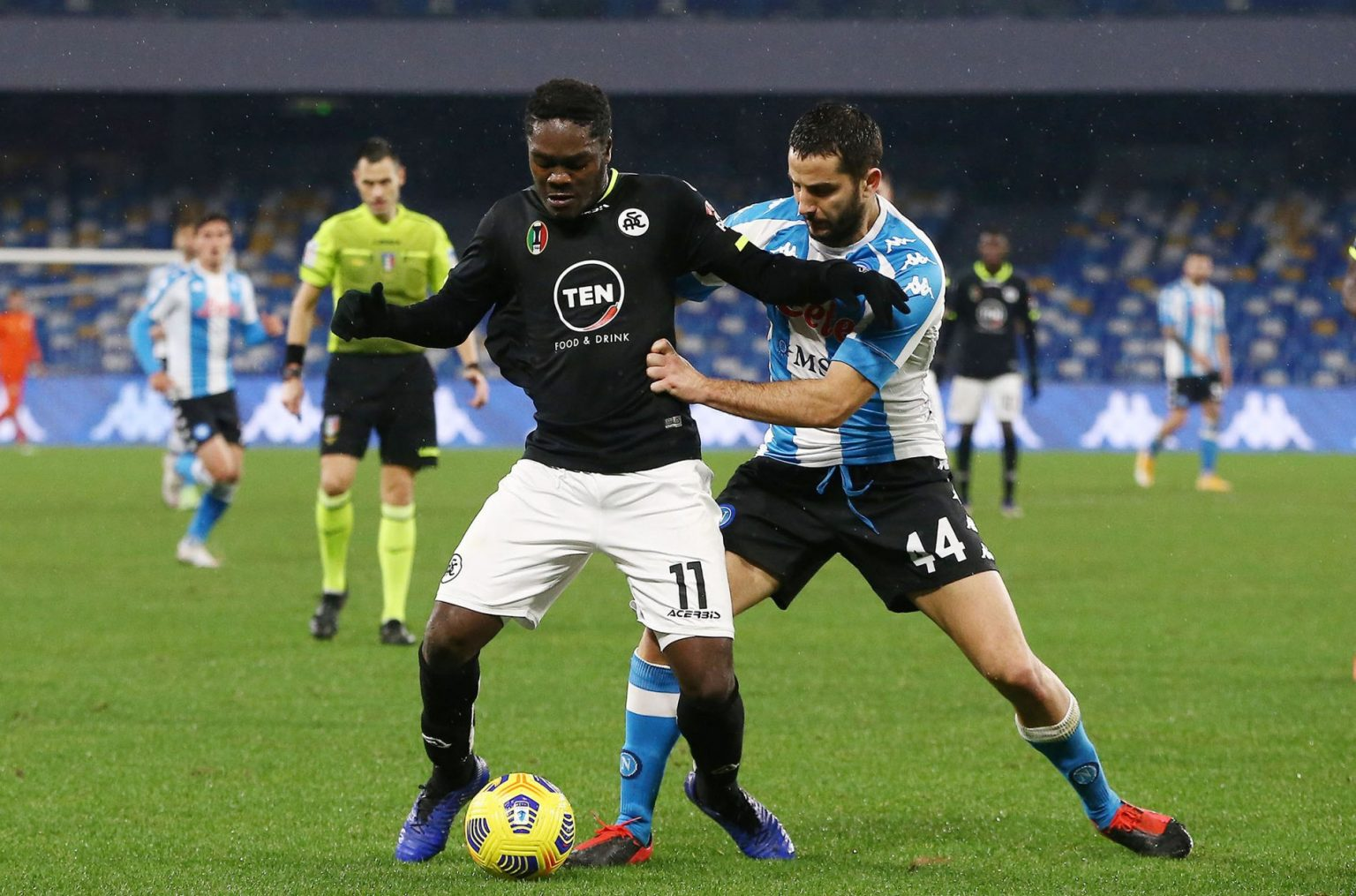 Former Torino manager Moreno Longo delighted with contribution to Emmanuel Gyasi's career