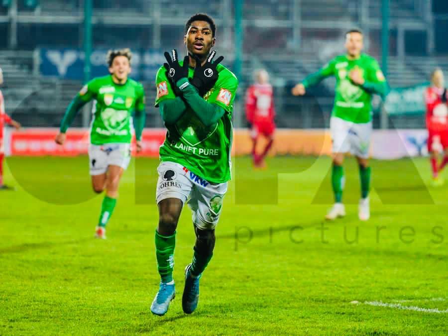 I will like to play another season with SC Austria Lustenau, says Ghanaian midfielder Anoff Blankson