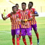 20/21 Ghana Premier League: Hearts of Oak climb into top four after 2-0 win against Eleven Wonders