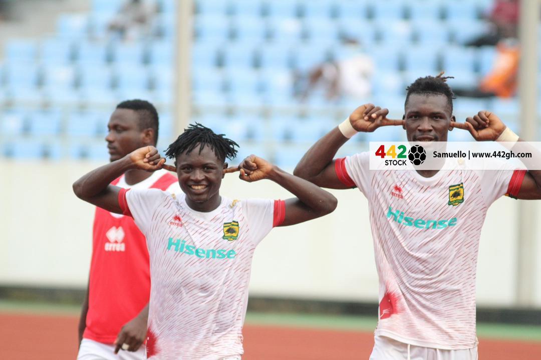 VIDEO: Christopher Nettey scores to hand Asante Kotoko narrow win against Ebusua Dwarfs