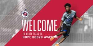USL side North Texas SC complete signing of Ghanaian youngster Hope Avayevu