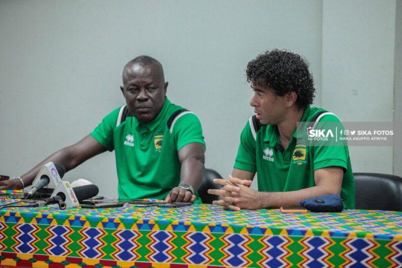 Fabio Gama is a tactically good player - Asante Kotoko interim coach Johnson Smith